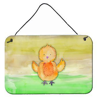 Carolines tesori BB7411DS812 pollo acquerello parete o porta appeso stampe