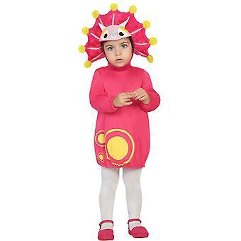 Trajes de bebé traje de dragón rosa de bebé