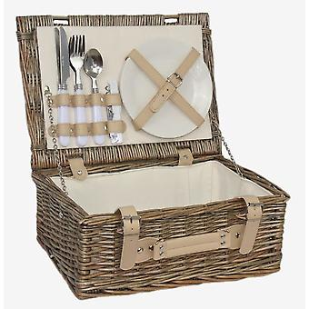 35cm 2 Person Fitted Picnic Basket
