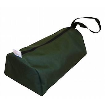 Tent / Awning Peg Zipped Carry Bag in waterproof heavy duty canvas material