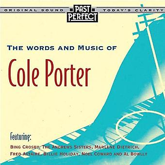 The Words and Music of Cole Porter: 20s, 30s & 40s Audio CD-Various