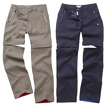 Craghoppers Ladies Kiwi Prostretch Convertible Trousers