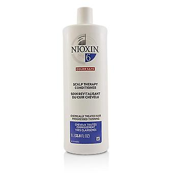 Nioxin Density System 6 Scalp Therapy Conditioner (chemically Treated Hair Progressed Thinning Color Safe) - 1000ml/33.8oz