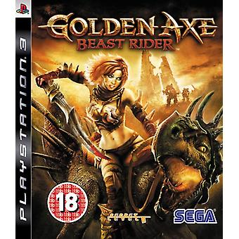 Golden Axe Beast Rider (PS3) - Uusi
