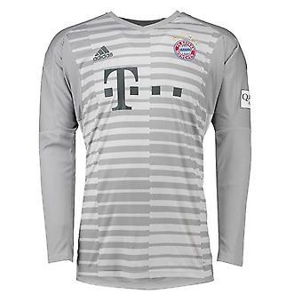 2018-2019 Bayern Munich Home Adidas Goalkeeper Shirt