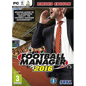 Football Manager 2016 Limited Edition PC CD