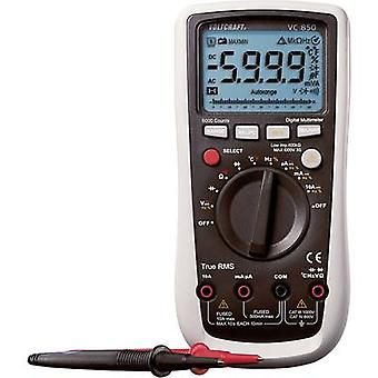 VOLTCRAFT VC850 Handheld Multimeter Kalibriert nach (ISO-Normen) Digital CAT III 1000 V, CAT IV 600 V Display (Anzahl): 6000