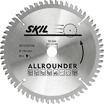 SKIL 2610395706 Circular saw blade 184 x 16 mm Number of cogs: 60 1 pc(s)
