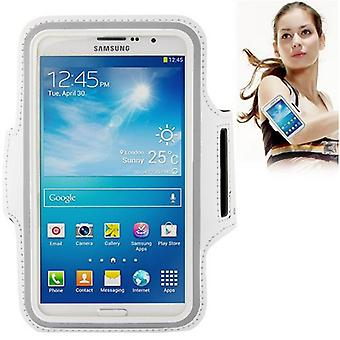 Tas armband voor Samsung Galaxy mega 6.3 i9200 wit