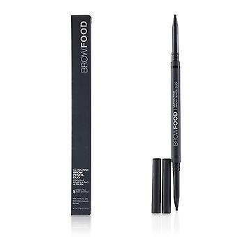 Lashfood Browfood Ultra Fine Brow Pencil Duo - # Charcoal - 0.10g/0.0035oz