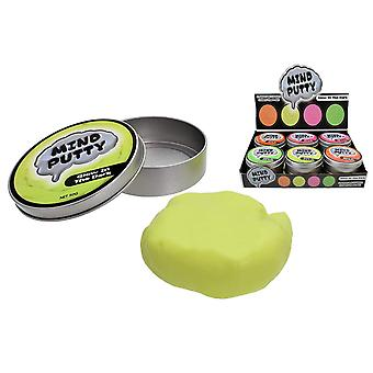 Mind Putty Single tin - Glow in the Dark - Assorted Colours