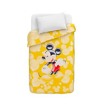 Disney Mickey Mouse Duvet Caleffi puzzles Yellow