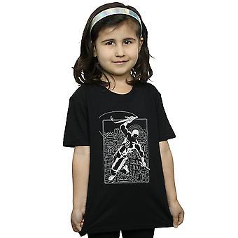 Marvel Girls Daredevil Silhouette T-Shirt