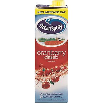 Ocean Spray Cranberry Fruit Juice Cartons