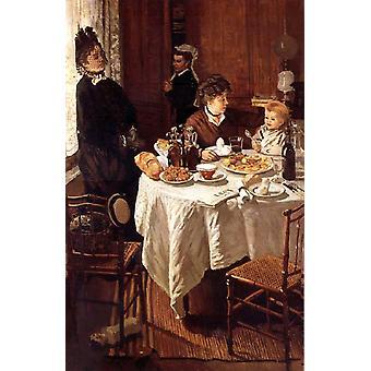 Le Dejeuner, Claude Monet, 60x40cm