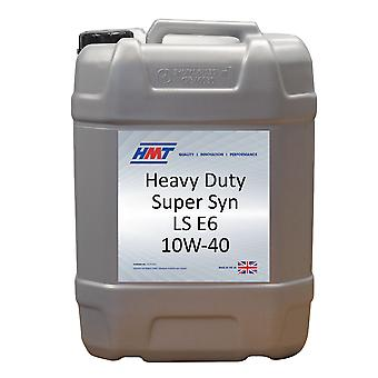 HMT HMTM403 Heavy Duty Super SYN LS E6 10W-40 - 20 Litre - Diesel Engine Oil