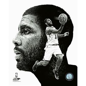 Kyrie Irving profil Photo Print