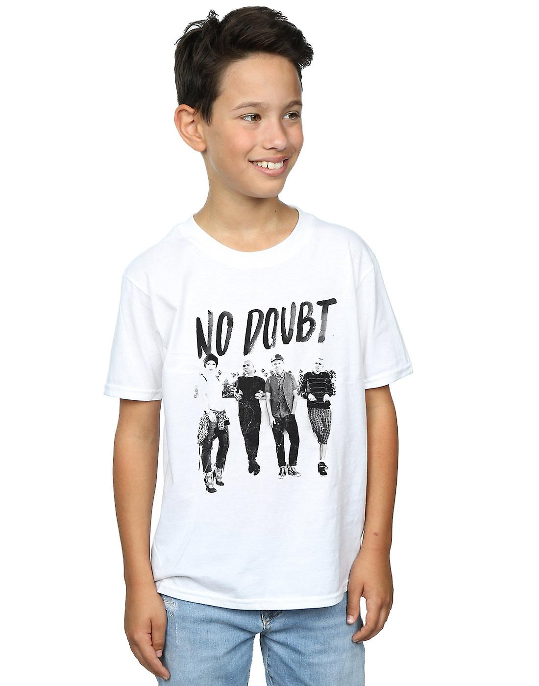 No Doubt Boys Rooftop Photo T-Shirt