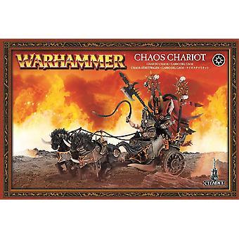 Taller de juegos Warhammer caos carro
