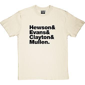 U2 Line-Up Natural Men's T-Shirt