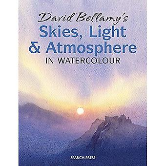 Cieli di David Bellamy, di luce e di atmosfera: in acquerello