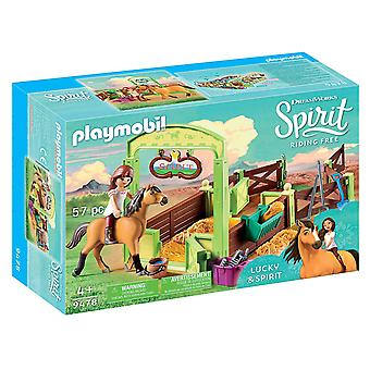 Playmobil, DreamWorks Spirit 9478 Lucky Horse Box
