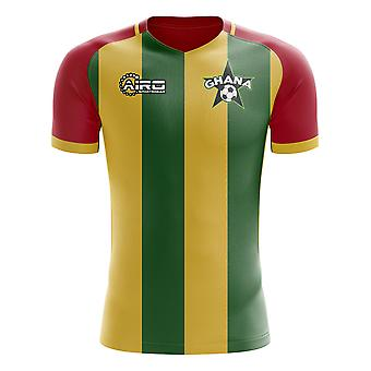 2020-2021 Ghana Home Concept Football Shirt - Little Boys