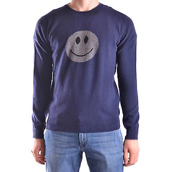 Altea Ezbc048055 Men's Blue Wool Sweater