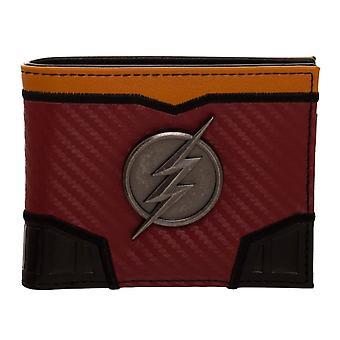 Il portafoglio in fibra di carbonio di Flash Metal badge
