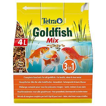 Tetra Pond Goldfish Mix 560g/4Ltr