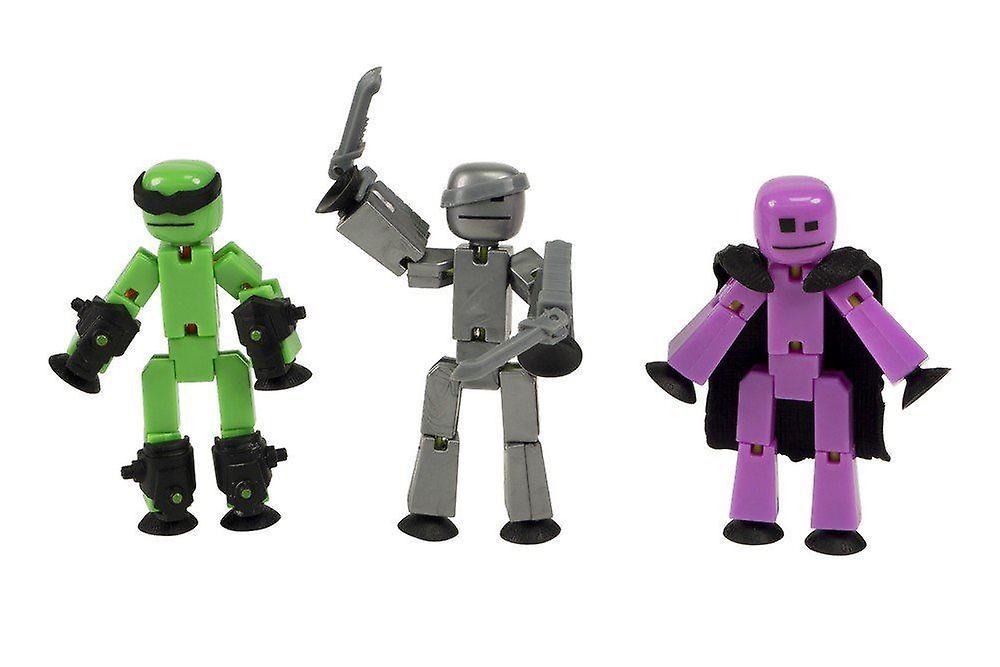 Stikbot Off The Grid 3 Pack - Raptus, Shift & Regalius