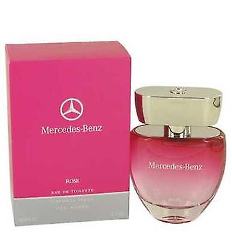 Mercedes Benz Rose door Mercedes Benz Eau de Toilette Spray 2 oz (vrouwen) V728-534303