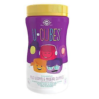 Solgar U-Cubes Children's Multi-Vitamin and Mineral Gummies 120 (52551)
