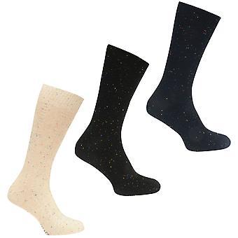 SoulCal Mens 3 Pack Boot Socks