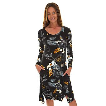 POMODORO Pomodoro Grey Dress 31972
