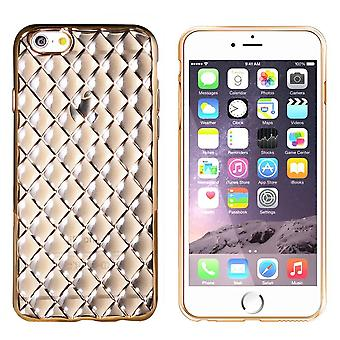 iPhone 6 Plus und 6 s Plus Fall Gold Pink - CoolSkin Diamant