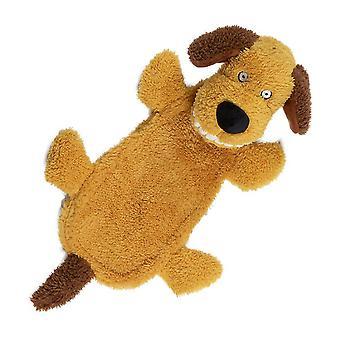 アニメーション大きな歯ぬいぐるみヘッド犬キーキーおもちゃ