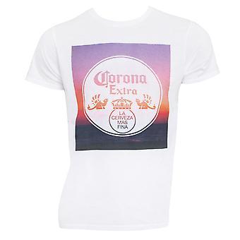 Corona Extra Sunset White Tee Shirt