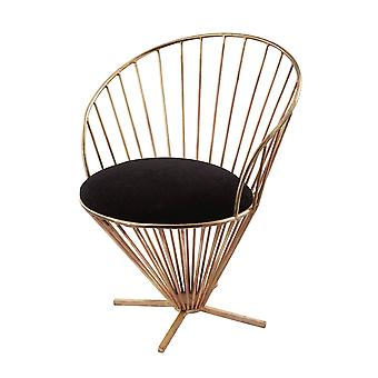 Iron taper wire chair