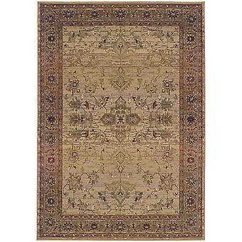 Kharma 836y1 beige/green indoor area rug rectangle 9'9