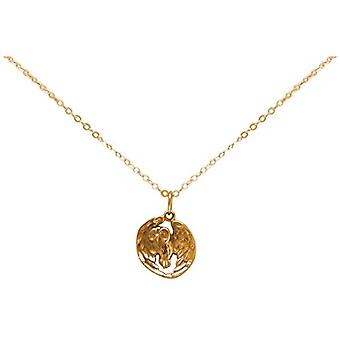 Gemshine Necklace with Donna vermeil pendant - Cbuhoo
