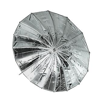 BRESSER SM-09 Jumbo riflesso ombrello argento/nero 162 cm