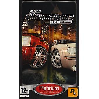 Midnight Club 3 DUB-Platinum Edition (PSP)-nytt