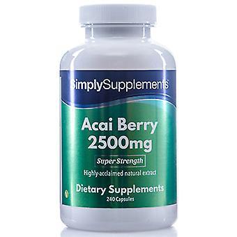 Acai berry - 2500mg - 240 Capsules