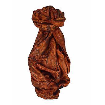 メンズジャマワル プレミアム シルク スカーフ パターン 7419 パシュミナ & シルク