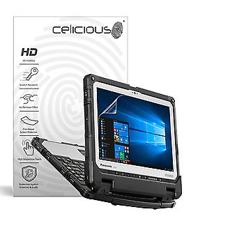 Celicious Vivid Invisible Glossy HD Screen Protector Film Compatible with Panasonic Toughbook CF-33 [Pack of 2]
