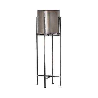 Hill Interiors Cylindrical Planter With Frame