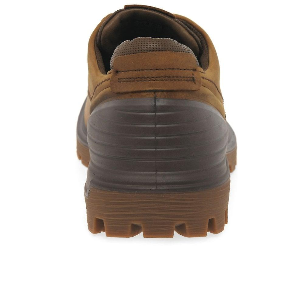 Ecco Mens Tred Tray Derby Boot, Tan