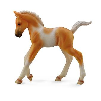 CollectA Pinto Foal Walking -Palomino