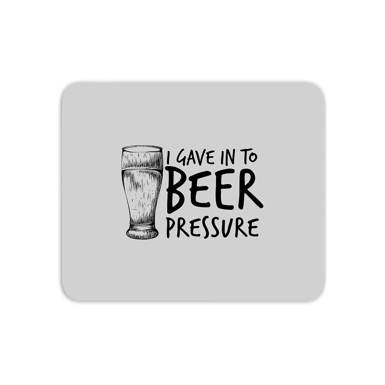 Beer Pressure Mouse Mat